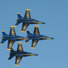 The Blue Angels: Seeing Them by Boat