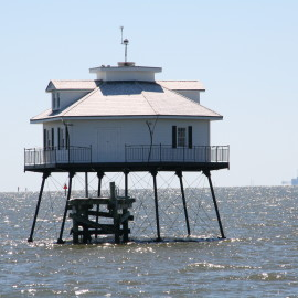 Getting Out to Mobile's Middle Bay Lighthouse